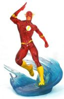 DC Gallery: The Flash (Speed Force) - PVC Figurine/Statue - SDCC 2019 Preview Exclusive!